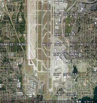 北緯47度27分西経122度18分この場所をグーグルの地図で表示したいので ...
