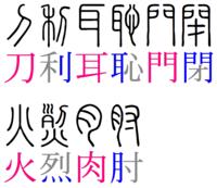 づき の 漢字 に く つきへん・にくづき・ふなづき