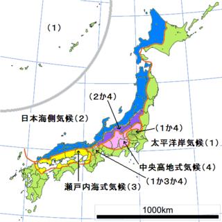 群馬県沼田市は日本海側の気候ですか?太平洋側の気候ですか? - 夏と ...