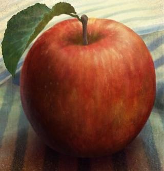 リンゴといえばセザンヌ。リンゴの画家と言われるくらいです...