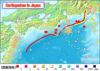南海トラフとは、伊豆半島よりも西側にある本州南方の「舟状海盆」を意味しています。...