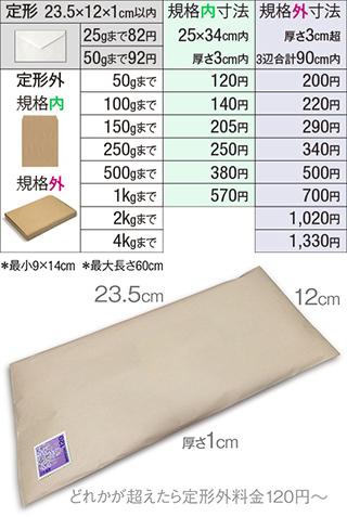 さ 郵便 定形 外 厚 定形・定形外郵便とはがきの大きさ・重量