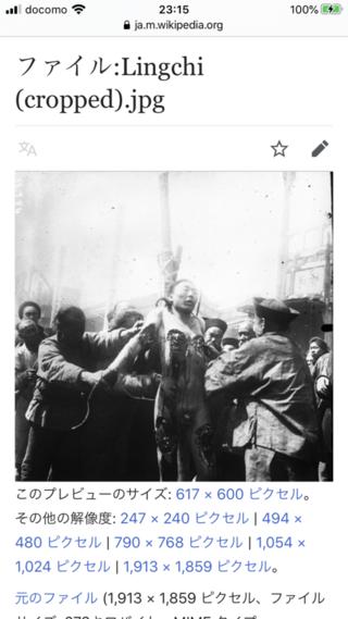 """刑 凌 2ch 遅 【閲覧注意】伝説の動画。最も恐ろしい拷問 """"凌遅刑"""""""