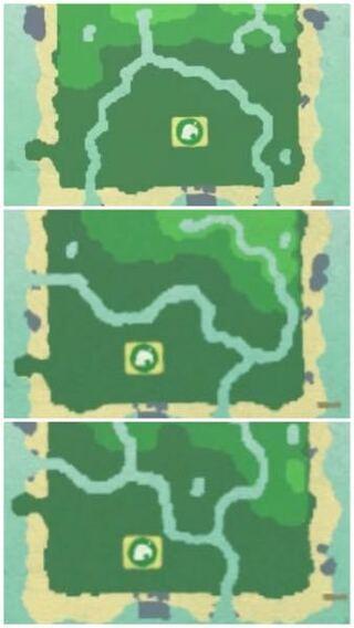 離島 地形 あつ森