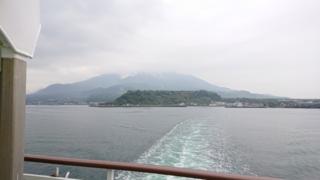 桜島ですね。