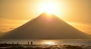 「薩摩富士」こと日本100名山の開聞岳(かいもんだけ)
