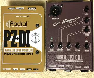 「パラアコ」は写真右の 【L.R.Baggs Para Acoustic D.I】 の事?...