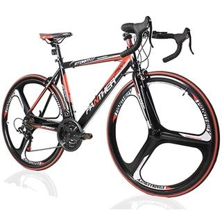 ロードバイクと謳って売られている自転車ですからまぎれもなくロードバイクですよ 。 ただしルック車です。...