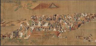 踊る念仏で民衆にとけこんだ、時宗の開祖 一遍上人が入っていない。