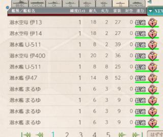 そんなことより、E3甲がやばい  全部2隻目(14は3隻目)、うーちゃんは5隻目と6隻目...