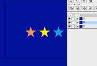 Adobe Illustrator アートボードについての質問です。 私はCS3を使用しています。 他社で作成したCS3以上のバージョンのデータを、CS3にバージョンを落としたデータを開いた際、 アートボード自体に色(青でし...