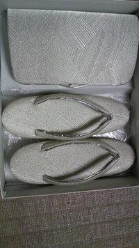 来週結婚式に留袖を着るんですが、この草履バックセット(佐賀錦・銀)で大丈夫でしょうか?相手の親御さんは、留袖一式レンタルらしく金の草履バックセットらしいのです
