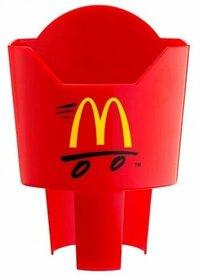 マクドナルド、車でポテトを食べるための「ポテトホルダー」プレゼント 欲しいですか? マクドナルド、車でポテトを食べるための「ポテトホルダー」プレゼント  http://news.nicovideo.jp/watch/nw586151   日本マクドナルドは、「バリューセット」購入者に、 サイドメニュー「マックフライポテト」用の「ポテトホルダー」1個をプレゼントする「ポテトホルダーキャン...
