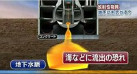 【タンク周辺の地下水〔地下水脈〕から 9万7千ベクレル/ℓ のトリチウム】 http://headlines.yahoo.co.jp/videonews/jnn?a=20130913-00000010-jnn-soci 島第一原発で、タンクから高濃度の汚染水が漏れた問題で...