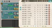 艦これ1-5での編成・装備について質問です。 1-5で潜水艦ドロップを狙いたいのですが、おすすめの編成・装備を教えてください。 司令部Lv50です。伊168はすでに2隻あります。伊58・伊19狙いです。  航戦(日向改Lv53)端雲×4 軽母(隼鷹改Lv30)天山+九九式艦爆撃+九九式艦爆撃+九七式艦攻 軽巡(木曽改Lv27)三式爆雷投射機+三式水中探信儀+九四式爆雷投射機+九三式...