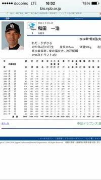 和田一浩って前田並に天才バッターじゃないですか?今年も10本打ったしね