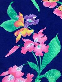 浴衣の柄について。  この花、なんて名前の花か教えてください! 浴衣の柄なので、夏の花だとは思うのですが…。
