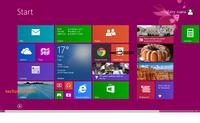 Windows8.1のスタート画面にGoogle chrome を画像のように表示させるにはどうすればいいでしょうか?