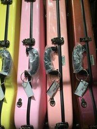 イーストマンバイオリンケースについて  今度イーストマンのバイオリンケースを購入する予定なのですが、色はピンク系を考えています。 そこで質問なのですが、ピンクのケースはやっぱり派手 すぎますかね??...