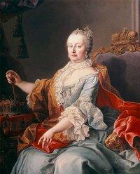 女帝マリアテレジアが、実は受け口でしゃくれだったと言うのは本当ですか? 肖像画ではそのようには見えませんが・・・