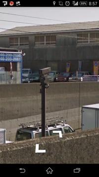 国道246にあるこのカメラはなんですか? オービスかなんにかですか?  走行中で写真が撮れなかったので、画像のはGoogle mapのストリートビューです。