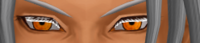 MMDモデルのテクスチャの表示の不具合について   只今MMDモデルの調節をしているのですが  まつ毛のテクスチャの淵が白く表示されてしまいます  それにカメラ表示を遠くにして見ると 顔のド真ん中に...