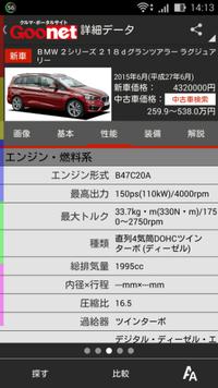 BMW アクティブツアラー218dはシングルターボで、グランツアラー218dはツインターボなんですか? グランツアラー220iはシングルターボ、ツインターボどちらですか