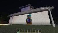 minecraftのスキンがバグっています! スティーブの体の構成がバラバラに なってます!  ご回答お願いします!