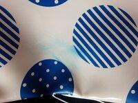 リュックにボールペンの線がついてたの除光液で落としたら青の模様がひろがって青くなってしまいました。 どうしたらおちますか。