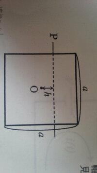 助けてください。  質量M、一辺の長さaの正方形の均質な薄板の中心から距離hの位置にある水平な軸Pまわりの慣性モーメントがわかりません。  できれば、途中式もよろしくお願いします。