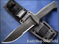 ガーバーのプロディジーナイフは、どんな用途のナイフでしょうか?アウトドアナイフとして売られていますが、軍用の戦闘ナイフとして使われていますか?