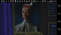 この人物画の作者やモデルの人物分かりますか?宮崎駿ルパン三世カリオストロの城に出てきたシーンなんですけど。