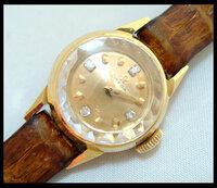 OMEGAのアンティーク腕時計を探しています。 どこかで オメガ(OMEGA) 18金無垢レディース腕時計4Pダイヤアンティーク(om-332)こちらの腕時計を販売している所はないでしょうか?