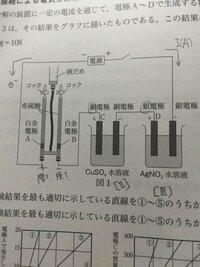 これ陰極陽極、負極正極あってますか? 電気分解ほんっと苦手で...お願いします。  陰極陽極での反応式自体は書けるのですが、肝心の問題での答えが陰極陽極が逆になってしまいました。 放電だろうから+が陽極だ...