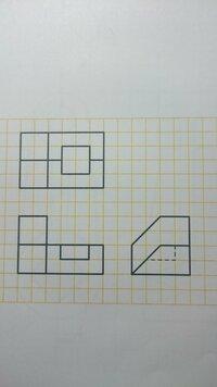 製図で等角図にするにはどうしたらいいですか?