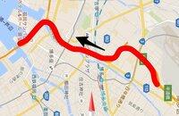 福岡都市高速道路の赤の区間(内回り)は渋滞しやすい区間でしょうか? 渋滞する場合は、どのような時がありますか?