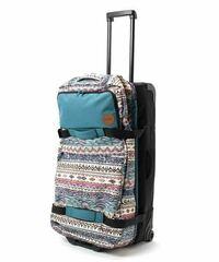 DAKINEというブランドのキャリーバッグを使ったことのある方いますか? 旅行に行くのにソフトタイプのスーツケースを探していて、DAKINEのがお洒落でいいなぁと思ったのですが、使ってる方の評価がほとんど無く質...