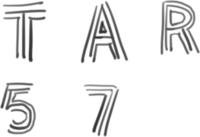 画像のような欧文フォントを探しています。  三本の線で作られたシンプルなフォントなのですが もしフリーで配布されてましたら教えて頂けると幸いです。  よろしくお願いいたします。