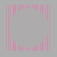 Illustrator で 様々な線を背景色で塗って隠すのではなく任意の図形の形に切り抜きたいです。  縦線には様々な指定があるのでパスファインダーのアウトラインは使えません。 一つ一つアンカーポイントを追加す...