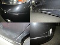 こういった車の傷は、ソフト99などのカー用品で補修できるものでしょうか? いずれも白い線が入っています。  コンパウンドなどの補修用品で除去可能でしょうか?