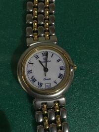 ウォルサムの腕時計について 中古でウォルサムの腕時計を手に入れました。 この会社はスイス、アメリカを転々として今は日本にあるようですが、わたしが手に入れたものがいつのものなのか、またいくらくらいのも...