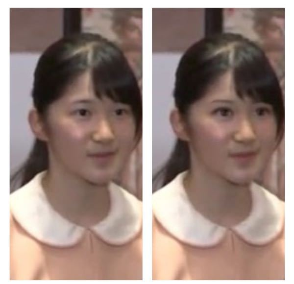 愛子さまは、化粧でアイプチとカラコンをすれば生まれ変わります。なぜ素っぴんのままなのでしょう???