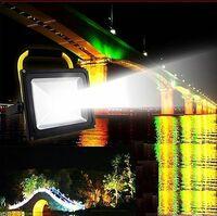 夜釣りが好きな方へお伺いいたします。   夜から深夜にかけて、画像のようなLED投光器を海に照らすと魚が寄ってきますでしょうか。  いかがでしょうか。 LED投光器のワット数は30W以上としておきます。