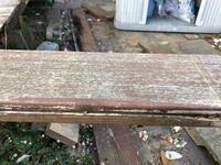 この板材はなんという種類でしょうか? ウッドデッキに使われていたものです