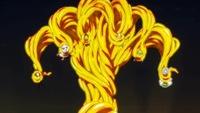 ワンピースのテゾーロやドフラミンゴは覚醒したパラミシア系の悪魔の実の能力者です。ドフラミンゴは建物などを「糸」にしたり、同じくテゾーロも金や黄金などを操れます。完全にパラミシアじゃ なく、ロギア系みたいに見えますね?