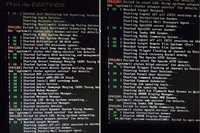 Linuxを使ったファイルサーバの起動不具合につきまして。  本日会社で使ってるlinux を使用したファイルサーバが写真のような画面で起動しなくなりました。 私自身がlinuxがまるでわからないのと、現在インフラ...