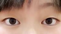 離れ目・つり目・黒目小さい・そもそも目が小さいです。  メイクでなんとかなりますか?  今クソデブでなぜか一重、目が小さくなっちゃったのですが痩せたら治りますか?