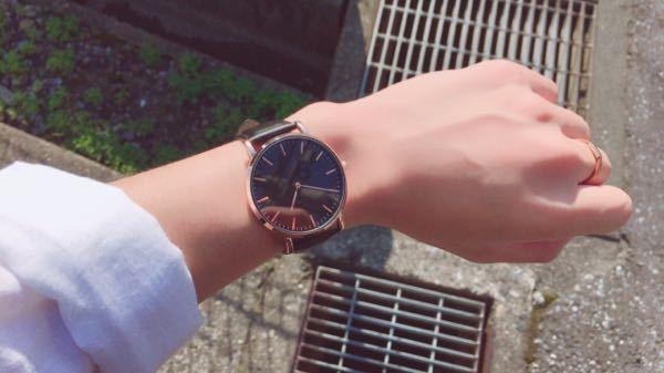 位置 腕時計 つける 腕時計のつける場所について質問です。