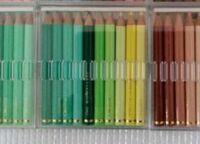 フェリシモ 500色色鉛筆 ちび(ミニサイズ)について  画像のフェリシモの色鉛筆・カラーミュージアム「ちび」が三菱製かどうか分かれば教えて頂けますでしょうか? ヤフオクに出品されている物で、出品者様に画...