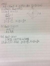 三角関数 4ステップの数Ⅱ 279(2)の問題です。 解いたのですが模範解答と違う解法だったので、この解法で正しいのかを教えてください。 ここをこう直した方がいい等も出来るだけ教えてください!